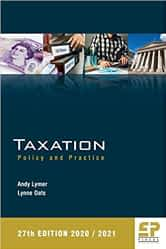 Taxation: Policy and Practise