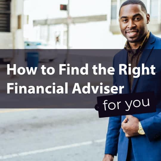 Find a financial adviser
