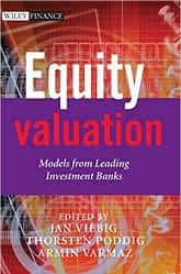 Equity valuation - Models from leading banks