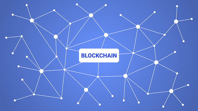 Blockchain works using a distributed ledger, shared across a network of computers.