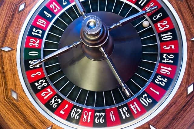 Are shares risky like gambling at a casino?